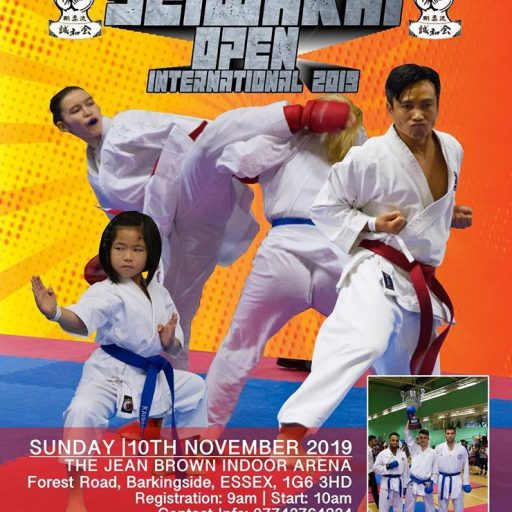 Seiwakai Open International 2019 - Karate Moerdijk